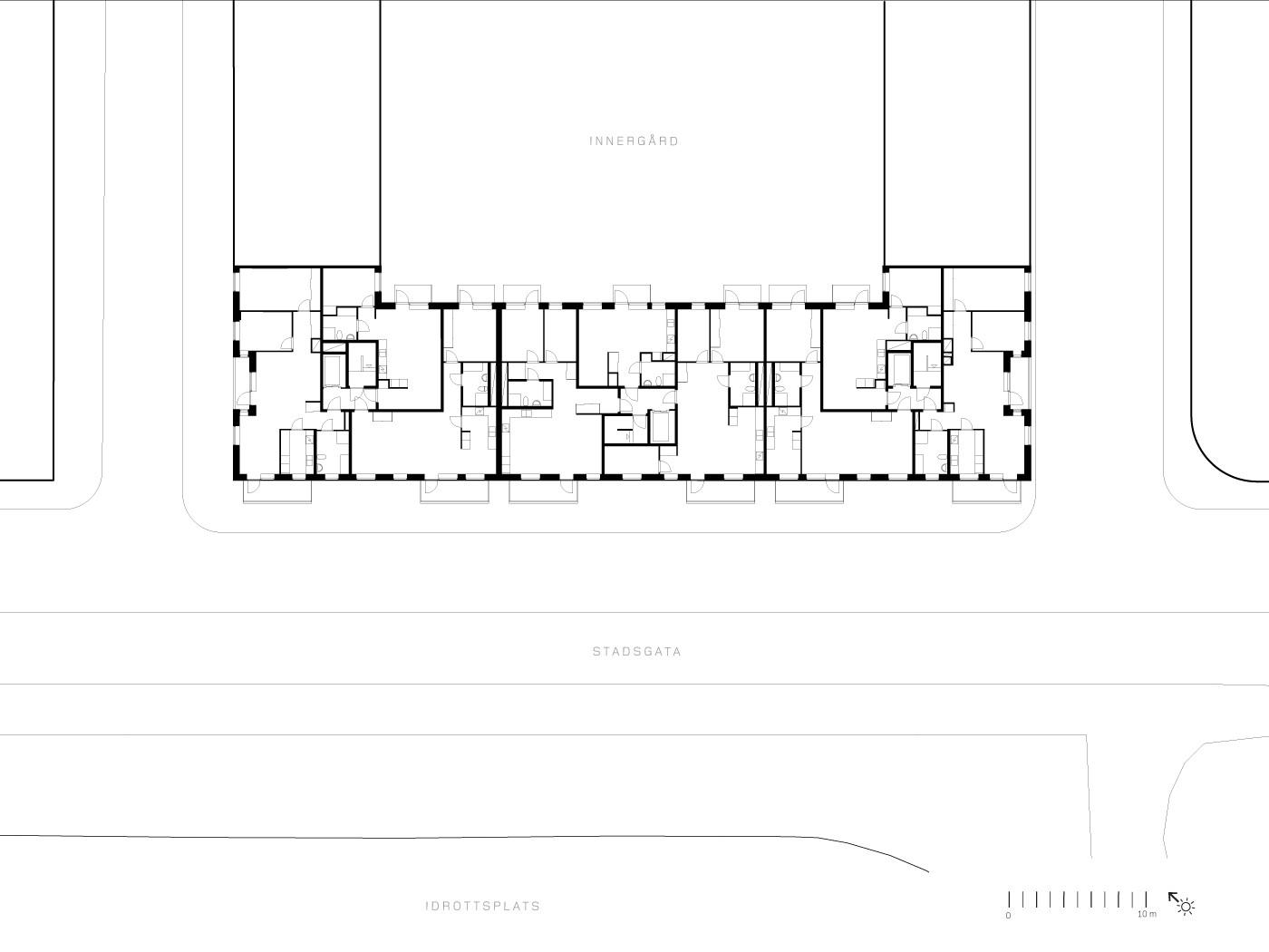 a-ripellino_läktarhuset_typplan