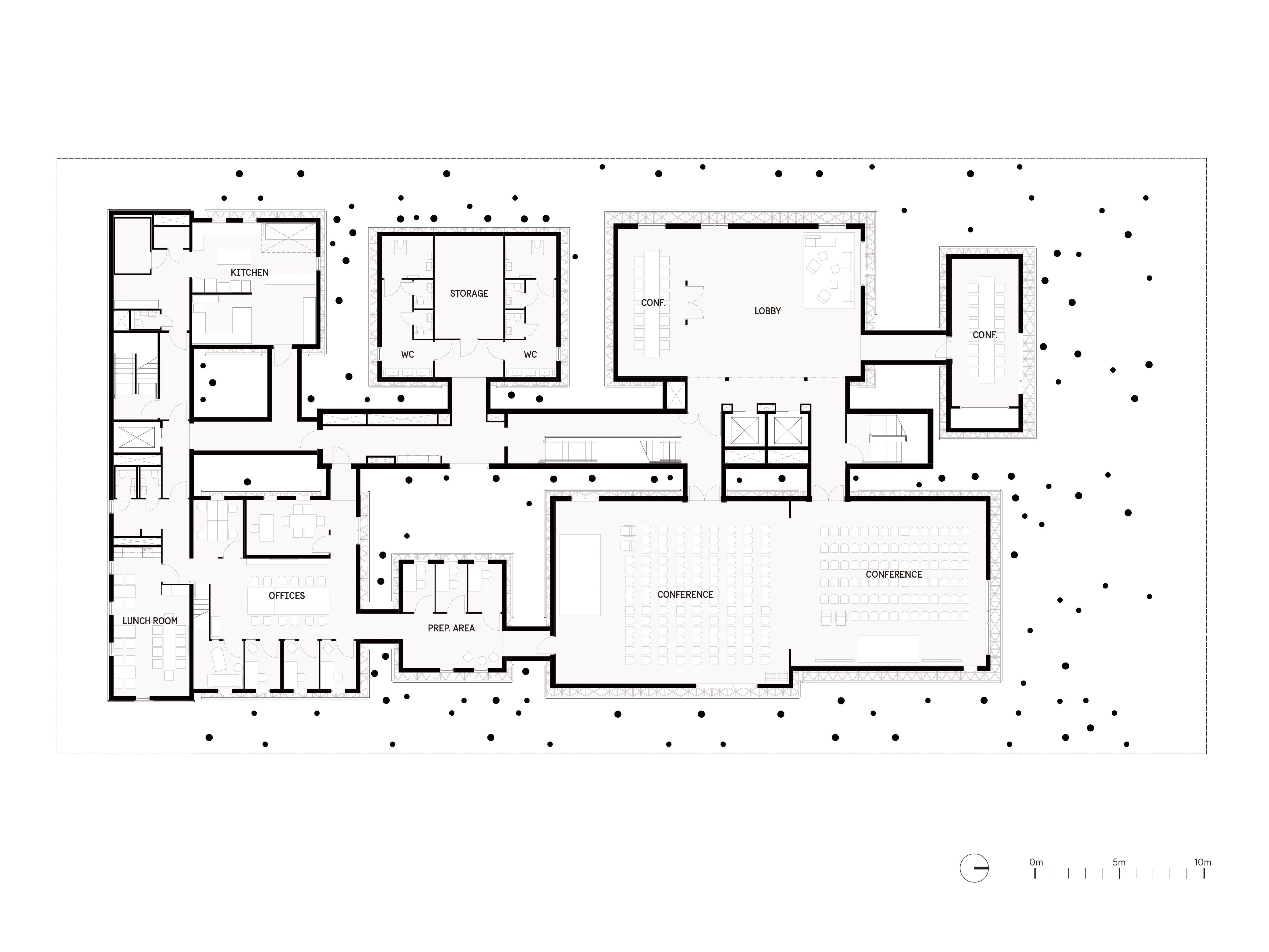 Alessandro-Ripellino-Arkitekter_Studio-Adrien-Gardere_Luigi-Pardo-Architetti_the-forest_conference plan