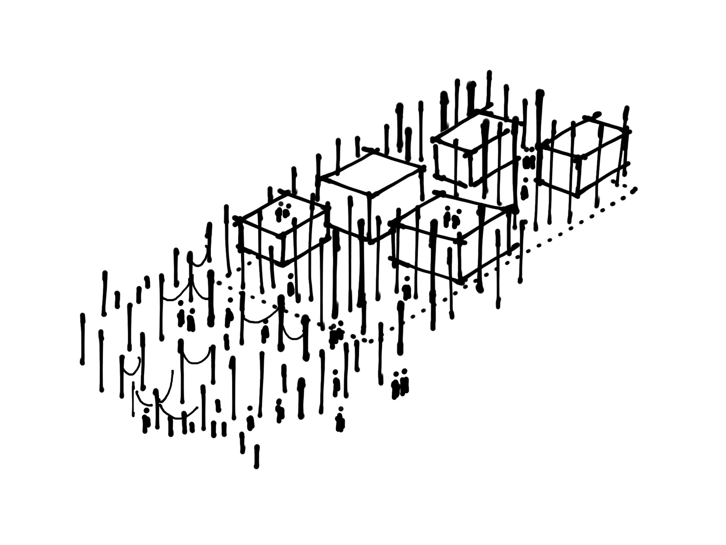 Alessandro-Ripellino-Arkitekter_Studio-Adrien-Gardere_Luigi-Pardo-Architetti_the-forest_sketch diagram